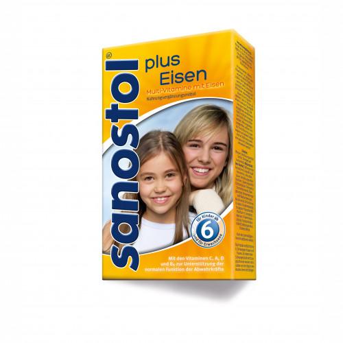 Sanostol Plus Eisen, 230 ML, DR. KADE Pharmazeutische Fabrik GmbH