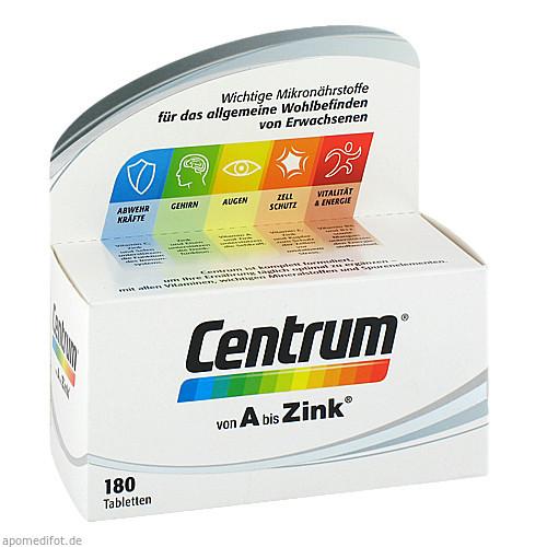 CENTRUM A-Zink+FloraGlo Lutein Caplette, 180 ST, Pfizer Consumer Healthcare GmbH
