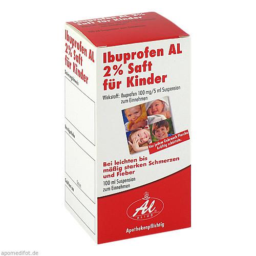 Ibuprofen AL 2% Saft für Kinder, 100 ML, Aliud Pharma GmbH