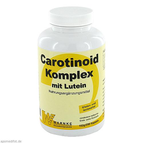 Carotinoid Komplex, 250 ST, Warnke Vitalstoffe GmbH