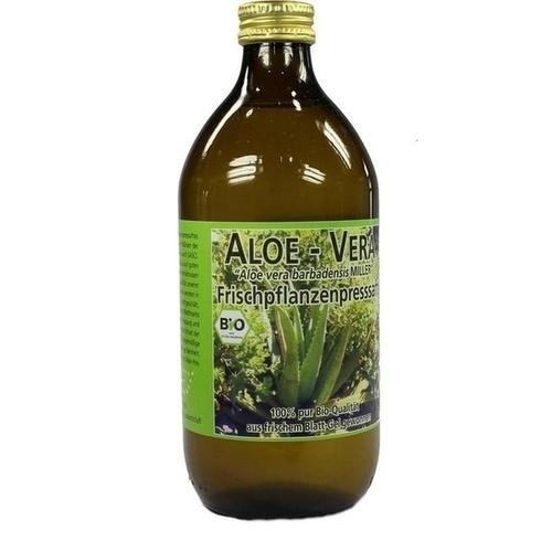 Aloe Vera Frischpflanzensaft, 500 ML, BioPräp Biolog.Präp.Handelsges.mbH