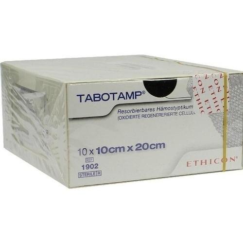 TABOTAMP Hämostyptikum 10x20cm, 10 ST, Johnson & Johnson Medical GmbH