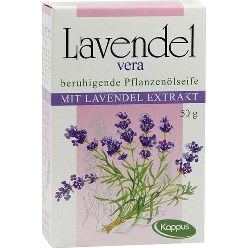Kappus Lavendel Vera Pflanzenölseife, 50 G, M. Kappus GmbH & Co. KG