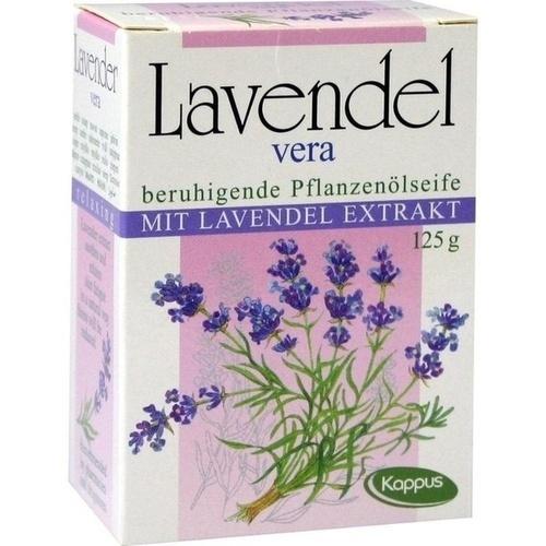 Kappus Lavendel Vera Pflanzenölseife, 125 G, M. Kappus GmbH & Co. KG