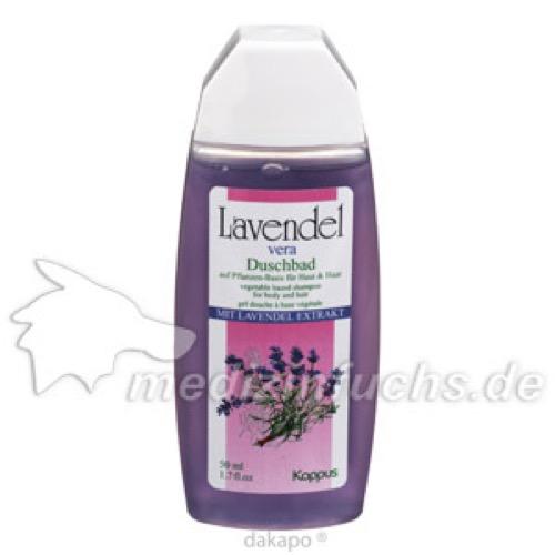 Kappus Lavendel Vera Pflanzenölduschbad, 50 ML, M. Kappus GmbH & Co. KG