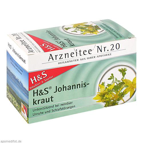 H&S JOHANNISKRAUT, 20X2.0 G, H&S Tee - Gesellschaft mbH & Co.