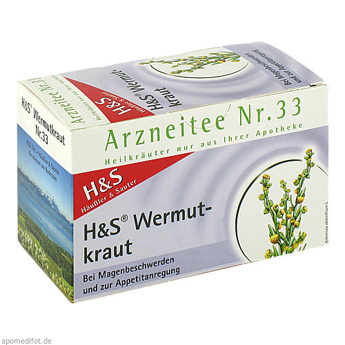H&S WERMUTKRAUT, 20X1.5 G, H&S Tee - Gesellschaft mbH & Co.