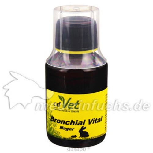 BronchialVital Nager, 100 ML, cd Vet Naturprodukte GmbH
