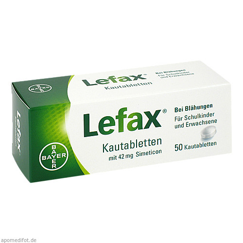 LEFAX, 50 ST, Bayer Vital GmbH