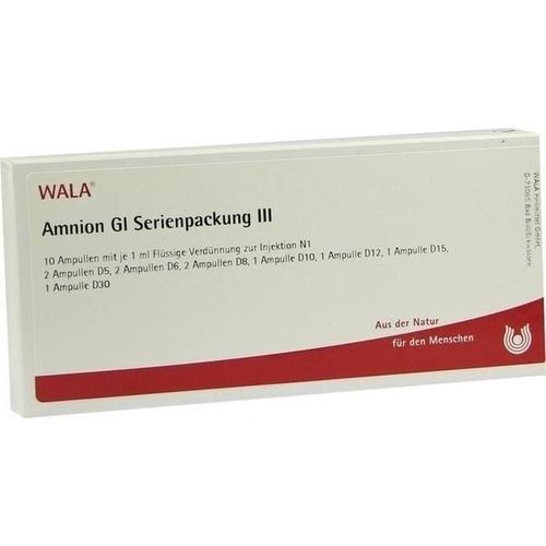 Amnion Gl Serienpackung III, 10X1 ML, Wala Heilmittel GmbH