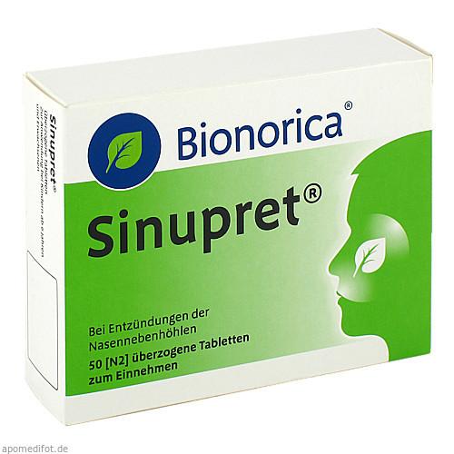 Sinupret Dragees, 50 ST, Bionorica Se