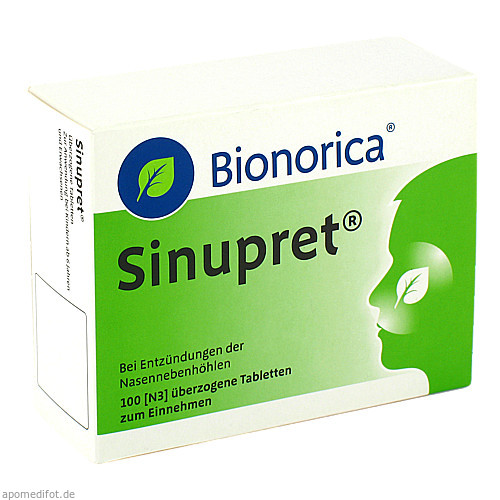 Sinupret Dragees, 100 ST, Bionorica Se