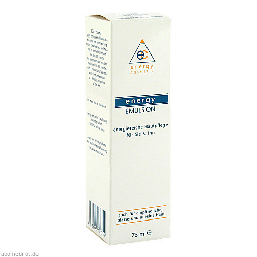 Energy-Emulsion, 75 ML, Energy Cosmetic Int. GmbH & Co. KG