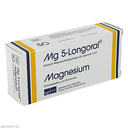 MG 5 LONGORAL, 50 ST, Drossapharm GmbH