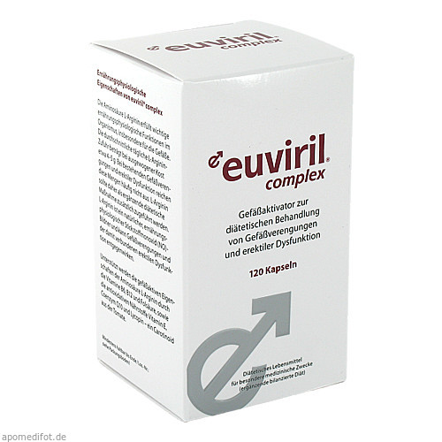 EUVIRIL complex Kapseln, 120 ST, SanimaMed Europe Health S.r.l.