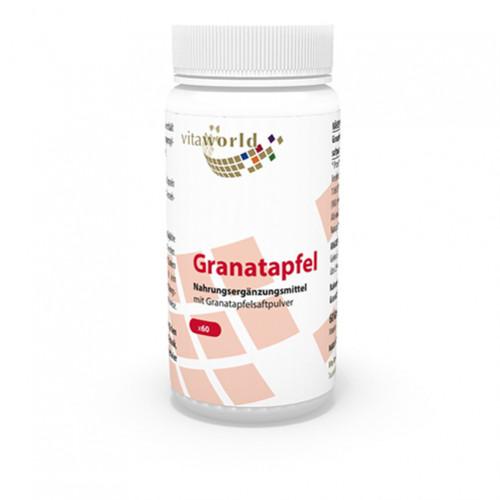 GRANATAPFEL 500mg, 60 ST, Vita World GmbH