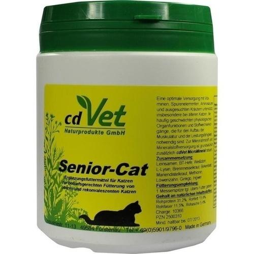 Senior-Cat, 250 G, cdVet Naturprodukte GmbH