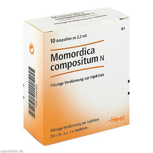 MOMORDICA COMPOSITUM N, 10 ST, Biologische Heilmittel Heel GmbH