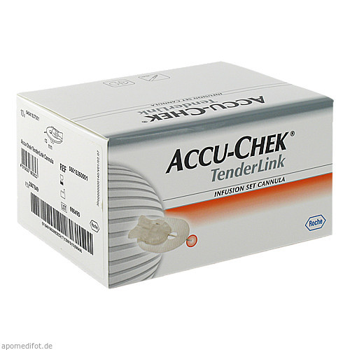 Accu-Chek TenderLink 13mm Kanüle, 10 ST, Roche Diabetes Care Deutschland GmbH