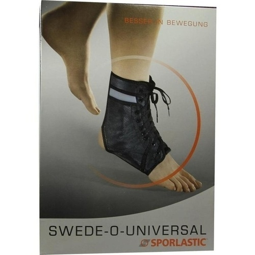 SPORLASTIC SWEDE O 07072 schw 4, 1 ST, Sporlastic GmbH