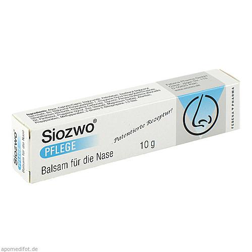 SIOZWO Pflege Balsam für die Nase, 10 G, Febena Pharma GmbH