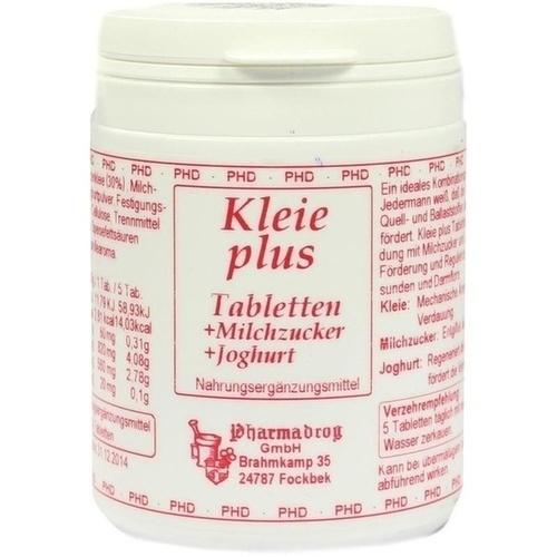 Kleie plus Weizenkleie Tabletten, 100 ST, Pharmadrog GmbH