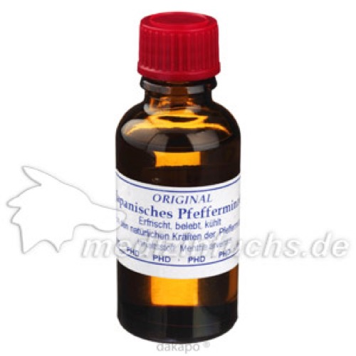 Japanisches Pfefferminzöl, 30 ML, Pharmadrog GmbH