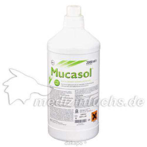 MUCASOL STATIONS KANISTER, 2000 ML, Schülke & Mayr GmbH
