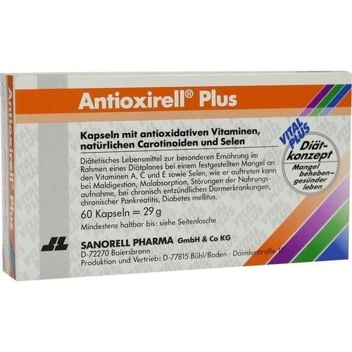 Antioxirell Plus, 60 ST, Sanorell Pharma GmbH & Co. KG
