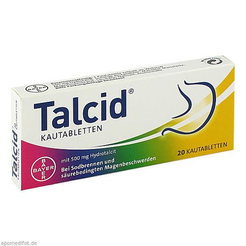 TALCID, 20 ST, Bayer Vital GmbH