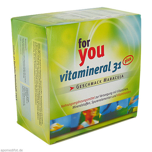 Vitamineral 31 plus, 30 ST, Vianutri GmbH