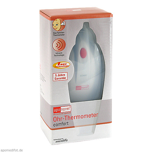 aponorm Ohrthermometer comfort, 1 ST, WEPA Apothekenbedarf GmbH & Co KG