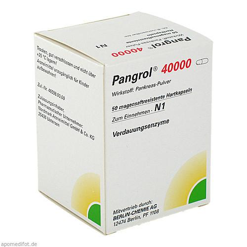 PANGROL 40000, 50 ST, Berlin-Chemie AG