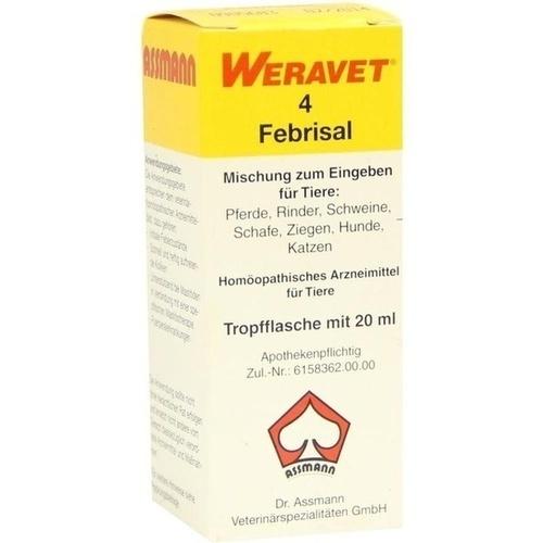 FEBRISAL 4 Tropfen vet., 20 ML, Biokanol Pharma GmbH