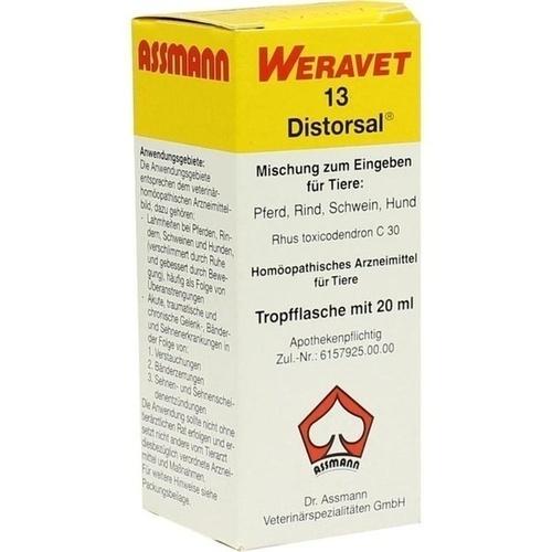 DISTORSAL 13 Tropfen vet., 20 ML, Biokanol Pharma GmbH