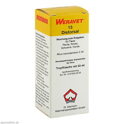 DISTORSAL 13 Tropfen vet., 50 ML, Biokanol Pharma GmbH