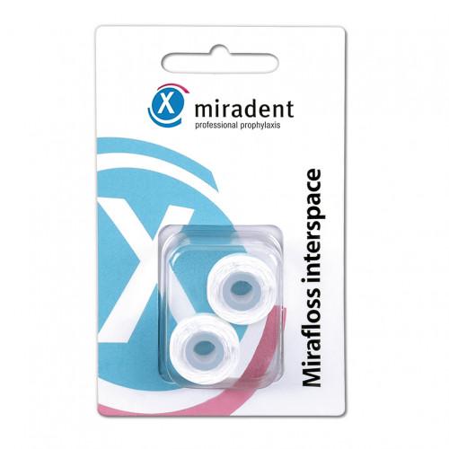 miradent Mirafloss Interspace Refill, 20 M, Hager Pharma GmbH