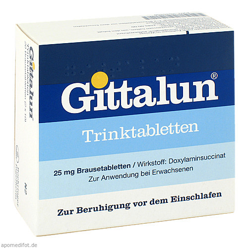 GITTALUN TRINKTABLETTEN, 20 ST, Hermes Arzneimittel GmbH