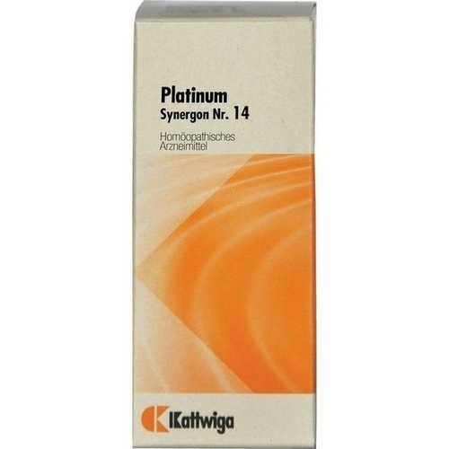 SYNERGON KOMPL PLATINUM 14, 20 ML, Kattwiga Arzneimittel GmbH