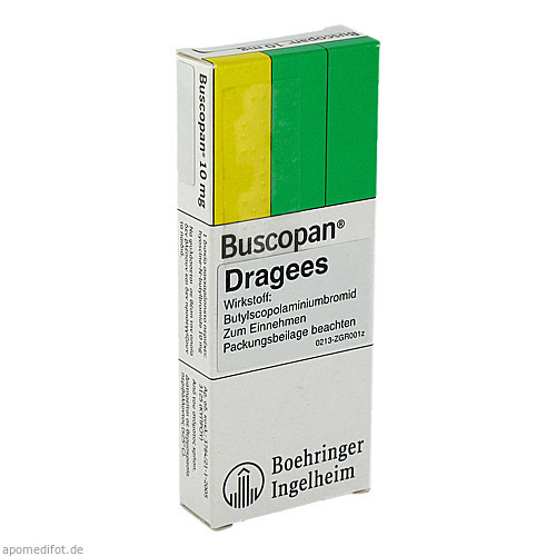 BUSCOPAN, 50 ST, Eurimpharm Arzneimittel GmbH