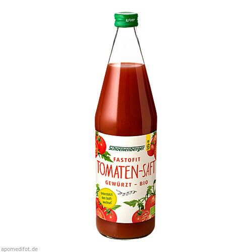 FasToFit gewürzter Tomatensaft bio Schoenenberger, 750 ML, Salus Pharma GmbH