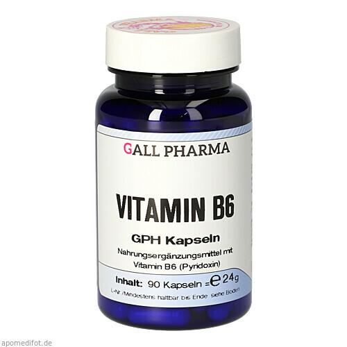 Vitamin B6 GPH Kapseln, 90 ST, Hecht-Pharma GmbH
