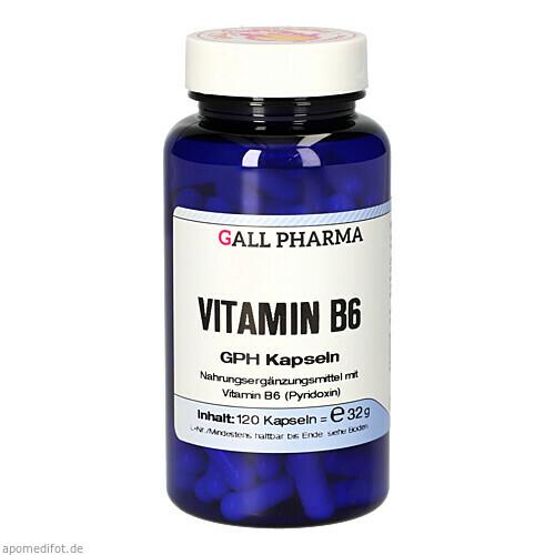 Vitamin B6 GPH Kapseln, 120 ST, Hecht-Pharma GmbH