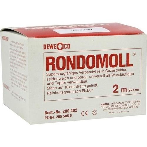 RONDOMOLL 5FACH 10CMX2M, 1 ST, DEWE+CO Verbandstoff-Fabrik Dr. Wüsthoff & Co.