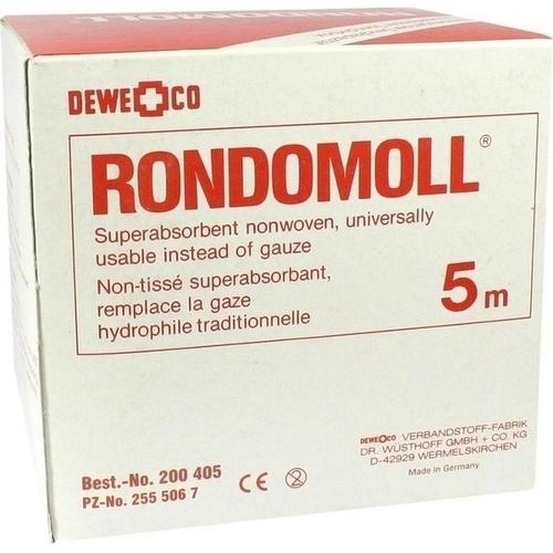 RONDOMOLL 5FACH 10CMX5M, 1 ST, Dewe+Co Verbandstoff-Fabrik Dr. Wüsthoff & Co.