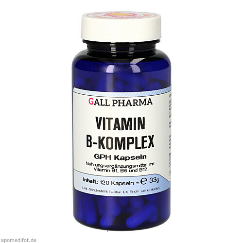 Vitamin B Komplex GPH Kapseln, 120 ST, Hecht-Pharma GmbH