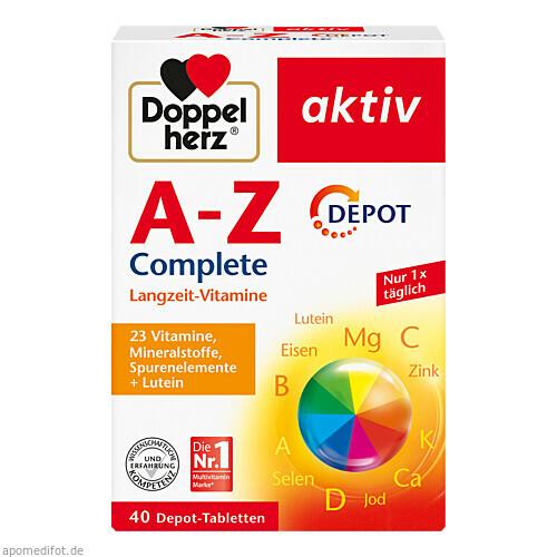 Doppelherz A-Z DEPOT, 40 ST, Queisser Pharma GmbH & Co. KG