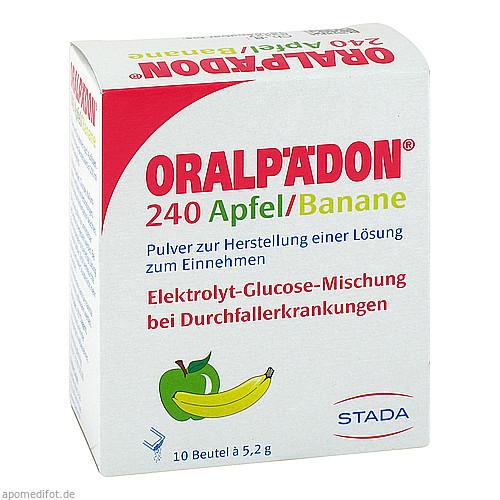 Oralpädon 240 Apfel-Banane, 10 ST, STADA GmbH