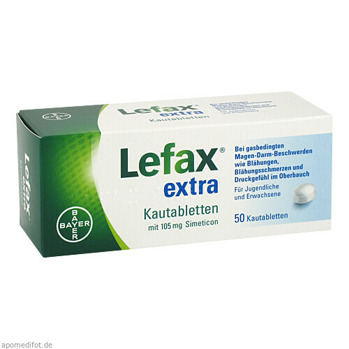 Lefax extra, 50 ST, Bayer Vital GmbH