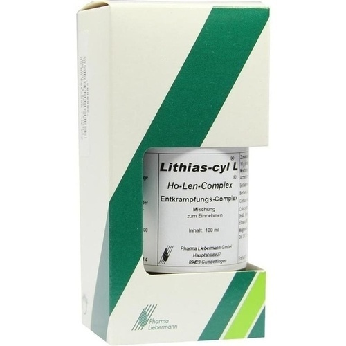 Lithias-cyl L Ho-Len-Complex Entkrampfungskomplex, 100 ML, Pharma Liebermann GmbH
